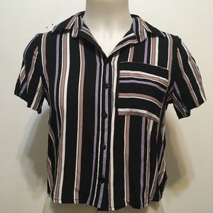 NWT Love Notes Button Down Top